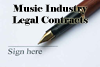 Music Business Legal Contracts
