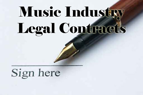 Product picture Music Business Legal Contracts