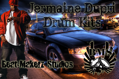 Product picture Jermaine Dupri Drum Kits
