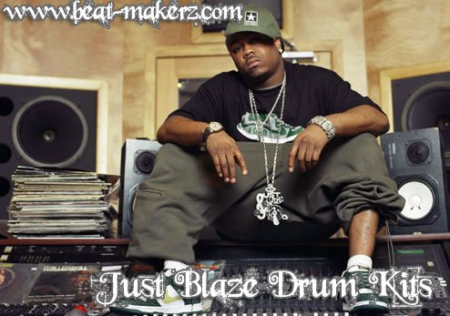 Product picture Just Blaze Drum Kit.zip